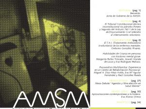 Boletín de la Asociación Madrileña de Salud Mental. Primavera 2011.