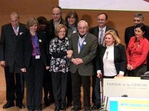 Paco Torres es homenajeado por sus colegas en Granada