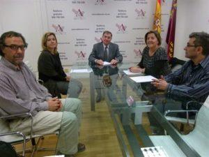 La Asociación Murciana de Salud Mental prepara con el Defensor del Pueblo Murciano talleres de trabajo de XXVII Jornadas de Defensores del Pueblo