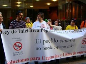 Ley Iniciativa Popular sobre la Sanidad Canaria