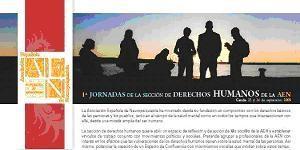 I Jornadas de la Sección de Derechos Humanos de la AEN (01.09.2009)