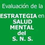Informe de Evaluación de la Estrategia en Salud Mental del Sistema Nacional de Salud