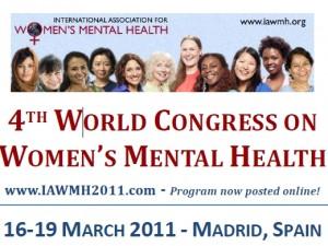 IV Congreso Mundial sobre Salud Mental de la Mujer (16-03-2011)