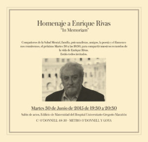 Homenaje a Enrique Rivas